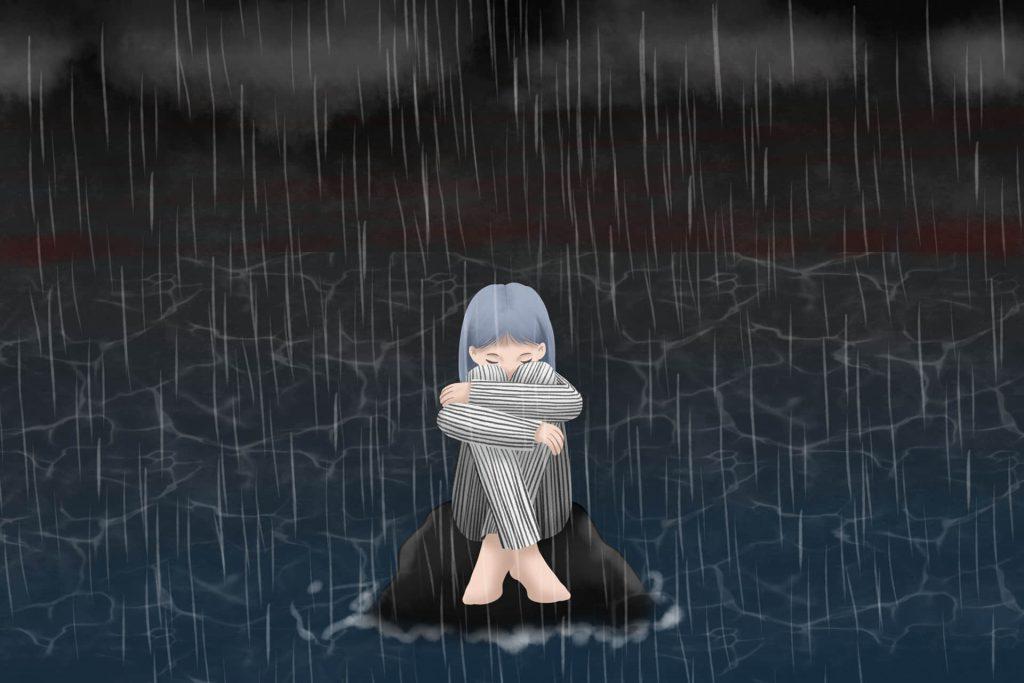 我的姑娘在江里
